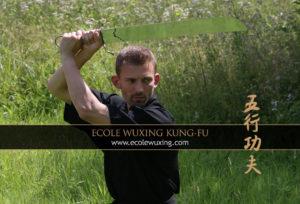 Matthieu Kwiecien Entraîneur Ecole Wuxing Kung-Fu